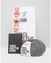 Wool And The Gang - Wool & The Gang Diy Zion Lion Pom Hat Kit - Lyst