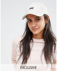 Adolescent Clothing - Girl Gang Embroidered Baseball Cap - Lyst