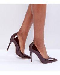 ASOS - Paris Wide Fit Pointed High Heels - Lyst