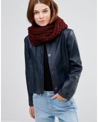 Lavand - Knitted Infinity Scarf - Lyst