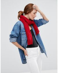 Lavand - Knitted Scarf - Lyst