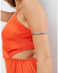 ASOS - Etched Arm Cuff - Lyst