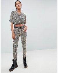 Motel - Ultimate Jeans In Leopard - Lyst