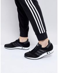adidas Originals - La Trainer Og Trainers In Black By9326 - Lyst
