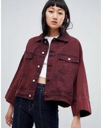 Weekday - Wide Sleeve Denim Jacket - Lyst