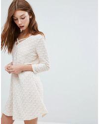 Oeuvre - Long Sleeve Dress - Lyst