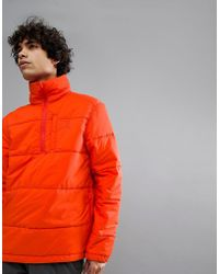 66°North - 66 North Holar Primaloft High Collar Insulation Anorak In Orange - Lyst