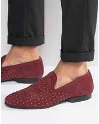 House Of Hounds - King Studded Loafer - Lyst