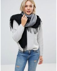 Lavand - Ombre Stripe Poncho Scarf - Lyst