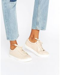 Daisy Street - Nude Trainers - Nude - Lyst
