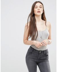 ONLY - Cami Bodysuit - Lyst