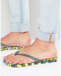 Gandys - Flip Flops In Prisim - Gray - Lyst