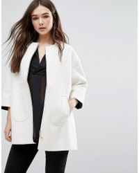 Lavand - Swing Coat In White - Lyst