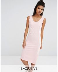 Nocozo - Blush Jersey Dress - Lyst