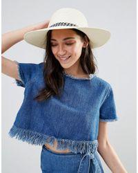 Liquorish - Floppy Straw Hat - Lyst