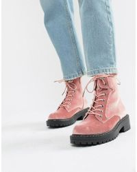 Blink - Chunky Hiker Ankle Boots - Lyst