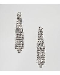 Accessorize - Diamante Drop Statement Earrings - Lyst