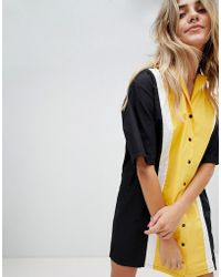 The Ragged Priest - Bowling Shirt Dress - Lyst