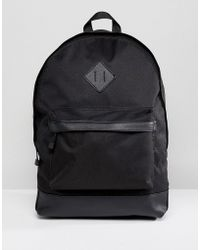 New Look - Backpack With Pockets In Black - Lyst