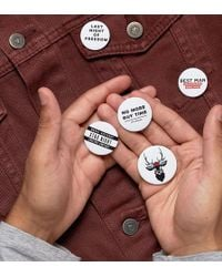 ASOS - 5 Pack Stag Do Badges - Lyst