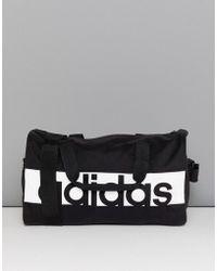 adidas - Gym Bag In Black - Lyst
