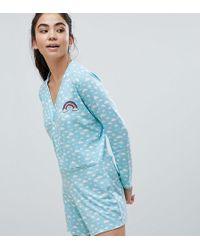 Adolescent Clothing   Cloud Print Romper   Lyst