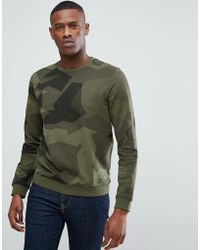 Esprit - Sweatshirt In Camo - Lyst