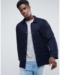 WÅVEN - Workwear Jacket In Valentini Blue - Lyst