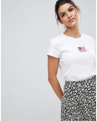 Polo Ralph Lauren - Mini Flag Logo T-shirt - Lyst