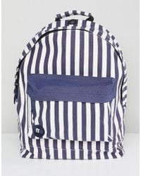 Mi-Pac - Seaside Stripe Blue Backpack - Lyst