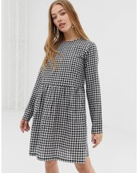 60494350205 Daisy Street Short Sleeve Hooded Sweat Dress With Kangaroo Pocket ...