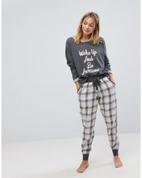 Boux Avenue - Wake Up And Be Awesome Twosie - Lyst