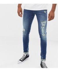 Jeans Dedicated Blend Denim Distressed Jeans