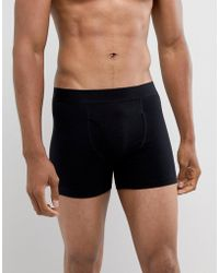 Weekday - Johnny Boxers In Black - Lyst