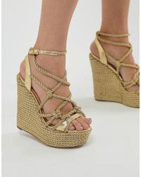 Kurt Geiger - Kurt Geiger Notty Wedge - Lyst