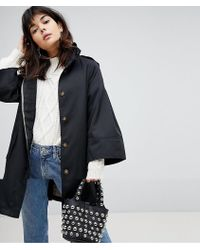 Vero Moda - Trench With Fluted Sleeves - Lyst