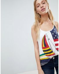Polo Ralph Lauren - Bring It Back Stars And Stripe Flag Layered Vest - Lyst