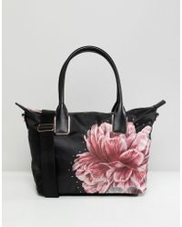 Ted Baker - Small Tote Bag In Tranquility Floral - Lyst