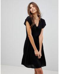 Vero Moda - Gathered Waist Dress - Lyst