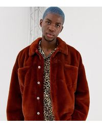 Collusion - Faux Fur Western Jacket - Lyst