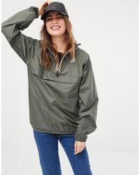 K-Way - K-way Leon 3.0 Pullover Waterproof Jacket - Lyst
