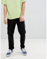 Cheap Monday - Neo Slim Fit Twill Trousers - Lyst