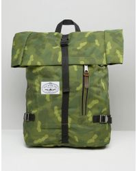 Poler - Backpack Classic Rolltop - Green - Lyst
