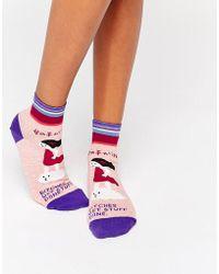 Blue Q - Get Stuff Done Socks - Lyst