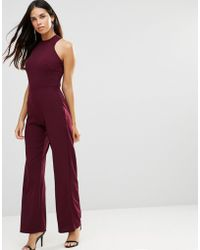 TFNC London - Strappy Jumpsuit With Strappy Back - Lyst