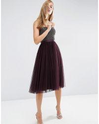 Needle & Thread - Coppelia Ballet Dress - Purple - Lyst
