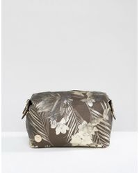 Mi-Pac - Make-up Bag In Tropical Metallic - Lyst