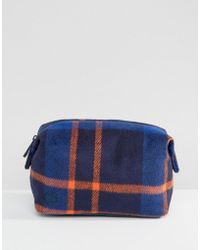 Mi-Pac - Premium Make-up Bag In Picnic Check - Lyst