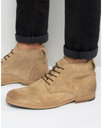 Shoe The Bear - Oliver Suede Lace Up Boots - Lyst