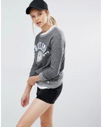 Abercrombie & Fitch - Logo Sweatshirt - Lyst